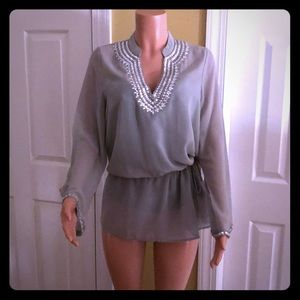 Boston Proper Tunic or blouse.NWOT. Never worn.